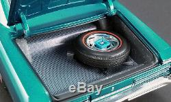 1966 Pontiac Gto Marina Turquoise 118 Vintage Street Car Acme Diecast Gmp