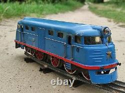 1966! Russia Tin Railway Train Model Pionerskaya Marklin Toy Moskabel car vtg