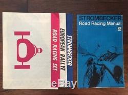 1966 Vintage Strombecker Slot Car HUGE Race Track Collection withManual & Instruct