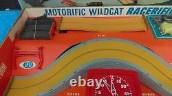 1967 Ideal Motorific Racerific WildCat Set With Triumph Car New In Box MIB NOS P