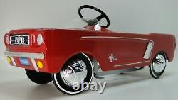 1967 Mustang Ford Pedal Car Too Small For Child To Ride On Metal Body Model