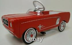 1967 Mustang Pedal Car Too Small To Ride On Miniature Metal Body Model