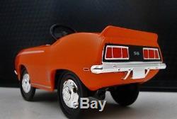 1969 Camaro Chevy Pedal Car A Vintage Metal Show Muscle Car Hot Rod Midget Model
