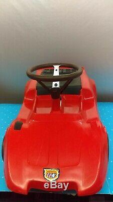 1969 Eldon Poweride X-1 Electric Ride On Rechargeable Car With Original Box