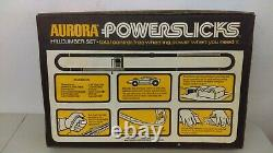 1970 Aurora Powerslicks Slot Car Hillclimber Race Set Sealed MIB Never Opened