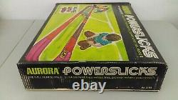 1970 Aurora Powerslicks Slot Car Pretzel Bender Set Sealed MIB Never Opened