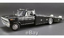 1970 Ford F-350 Ramp Truck Drag Race Car Hauler Black Acme Vintage Gmp Diecast