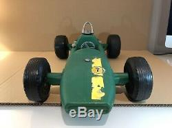 1970 Vintage Action Man Gi Joe Grand Prix Lotus Race Car Irwin Hasbro Palitoy