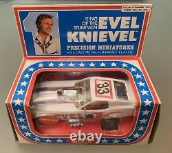 1976 Ideal Toys Evel Knievel Precision Miniatures DIE CAST Funny Car Unpunched