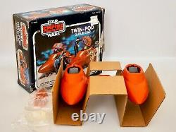 1980 Star Wars ESB Empire Cloud Car Vehicle Vintage Toy Mint with Box, Insert