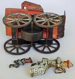 20's Schiebel Dayton Touring Car Wood-cast Iron/passenger Flywheel Friction 7