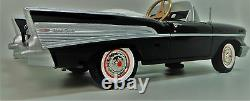 57 Chevy Pedal Car Too Small For Child To Ride Mini 55 Metal Chevrolet Model