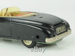 9 CKO Germany Tin Wind-Up 1950's CABRIO SUPER Flip Top Car Cabriolet
