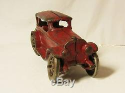 A. C. Williams Cast Iron Lincoln Touring Car Sedan Nickel plated wheels