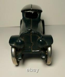 A. C. Williams Cast Iron Two Tone Green & Blue Lincoln Touring Car 7 Hubley