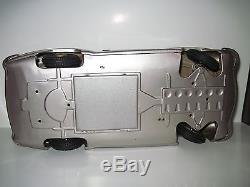 ANTIQUE TIN TOY CAR MERCEDES BENZ 190SL GERMANY VERY BIG 1950s RARE