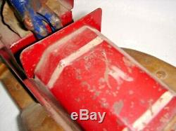 ANTIQUE TOY HILLCLIMBER TOY CAR HILL CLIMBER DELIVERY TRUCK VAN Cast Iron Driver