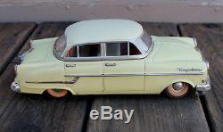 ANTIQUE VINTAGE 10 Germany Gama Tin Friction Toy Opel Kapitan Toy Car