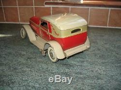 ART DECO TIPPCO COUPE CAR GERMANY TIN LITHO TOY wind-up TINPLATE ANTIQUE TIPP CO