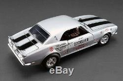 Acme 1968 Chevy Camaro Z/28 Quicksilver Nhra Drag Racing 118 Gmp Vintage Car