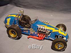 Al Unser # 1 Gmp Johnny Lightning Vintage Dirt Champ Race Car 118 Diecast Acme