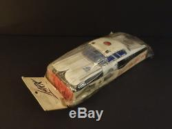 All Original Ford Galaxy Police Car Japan 1960 + Original Packaging