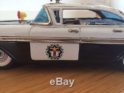 Alps (Japan) 1959 Plymouth 4-door hardtop Highway Patrol police car