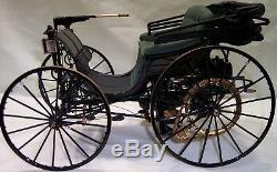 Antique Concept Car Before Ford Original Model T A Vintage Built Classic Metal