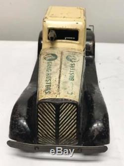 Antique Marx Police Gang Busters Car