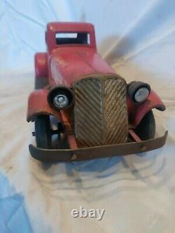 Antique Marx Siren Fire Chief Car, very clean good condition. Eco shipping. Wow