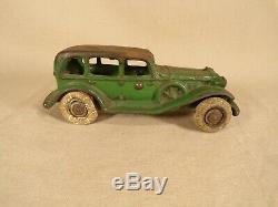 Antique Original Cast Iron Car Automobile Coupe Arcade Hubley Stevens Kenton