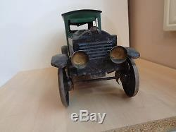 Antique Pressed Steel Toy Car-Hillclimber Friction Type-Possibly Dayton