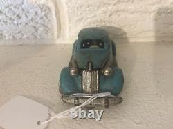 Antique rare Hubley Cast iron1934 Studebaker Toy Automobile car 5 with spare