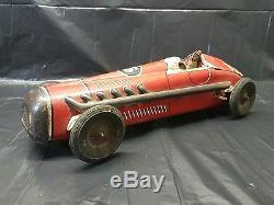 Antique tin toy cars