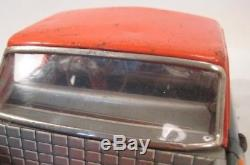 Awesome Old Tin Friction Toy Car Big 11 Ford Ranchero Pick Up Truck Japan 1957