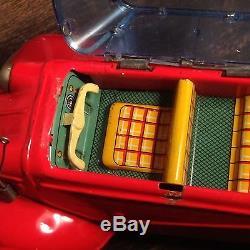 Bandi Messerschmitt Kr 200, Japan Tin Friction Toy Car Original Rare! Works