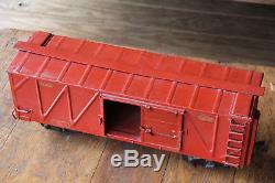 BUDDY L TRAIN Box Car Vintage Toy