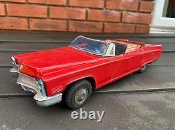 Bandai Cadillac Kingsize Convertible Nice Vintage Original Working Model