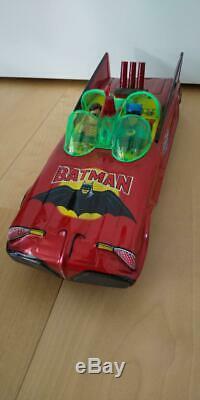 Batman Batmobile Batman Car tin toy