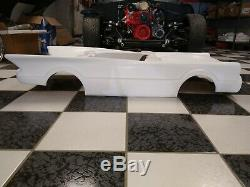 Batmobile Vintage Pedal Car Body Fiberglass