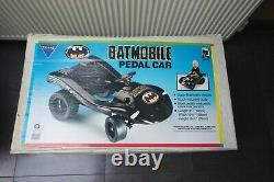 Batmobile pedal car Triang 80s original Batman Adam West DC Comics Bob Kane