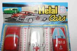 Blister Amb Marchesini Metal Cars Auto In Latta Tin Toys Vintage
