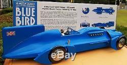 Blue Bird 21 Inch Tin Model 1933 Record Rolls Royce 12 Cyl. Motor Collector Car