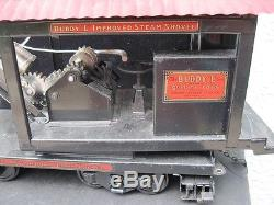 Buddy L. Outdoor Railroad Large Car With Shovel