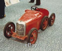Bugatti Grand Prix Eureka voiture a pedales tretauto pedal car