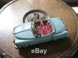 CHEVROLET CONVERTIBLE NOMURA TIN TOY JAPAN 1950's TINPLATE VINTAGE CAR cadillac