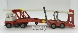 CORGI Vintage Major Toys Carrimore Mark IV Car Transporter Pre-Owned Red & Cream