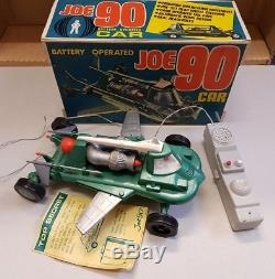 Century 21 Toys Joe 90 Battery Operated Car 1968 Gerry Anderson