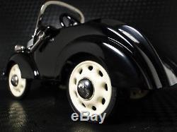 Chevy Pedal Car Custom 1930s Black Vintage Classic A Sport T Midget Metal Model