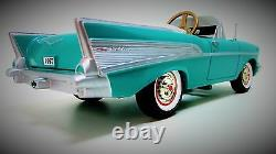 Chevy Pedal Car Too Small For Child To Ride On Mini Collector Model Metal Body